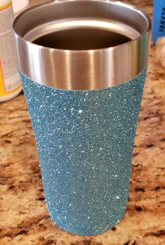How to make a beautiful glitter tumbler