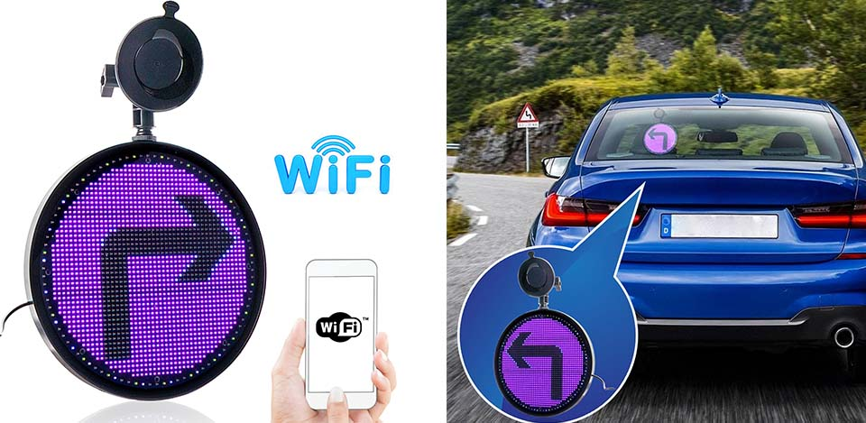 wifi sign for car