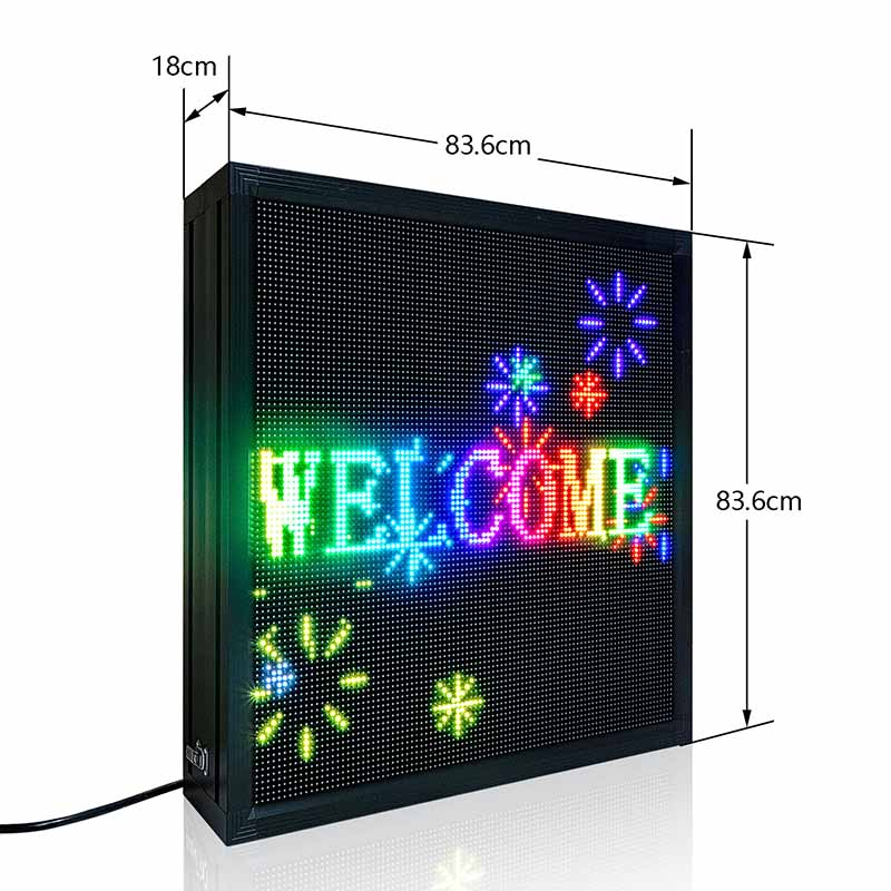 double sided outdoor digital signs