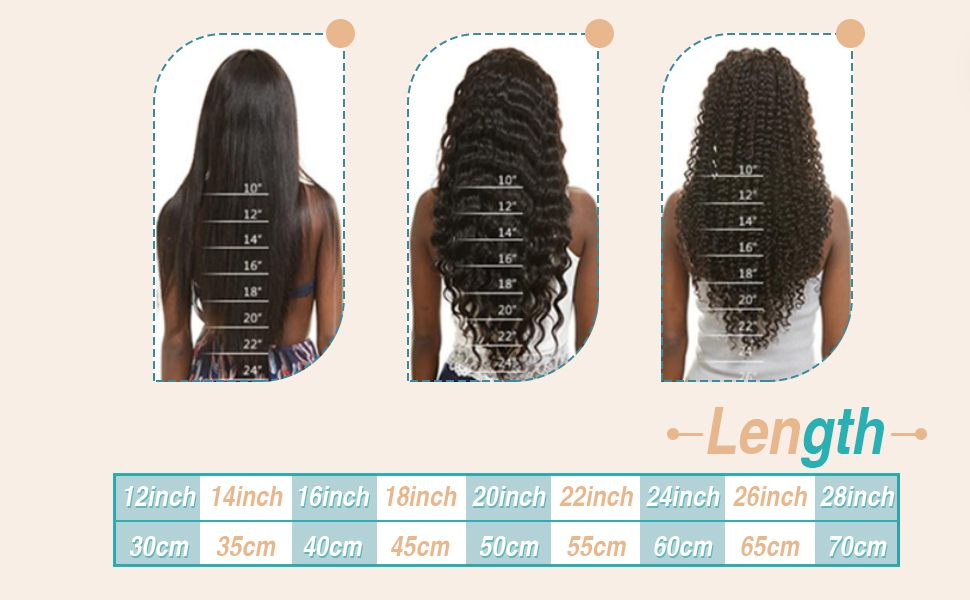 how to choose tape in hair length