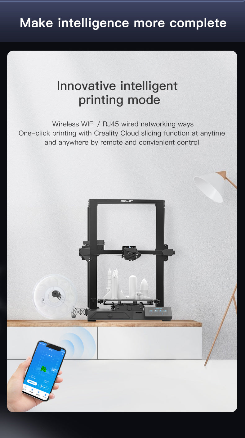 CR-10Smart 3D Printer; Creality3d Upgraded CR-10, CR Series 3D Printer