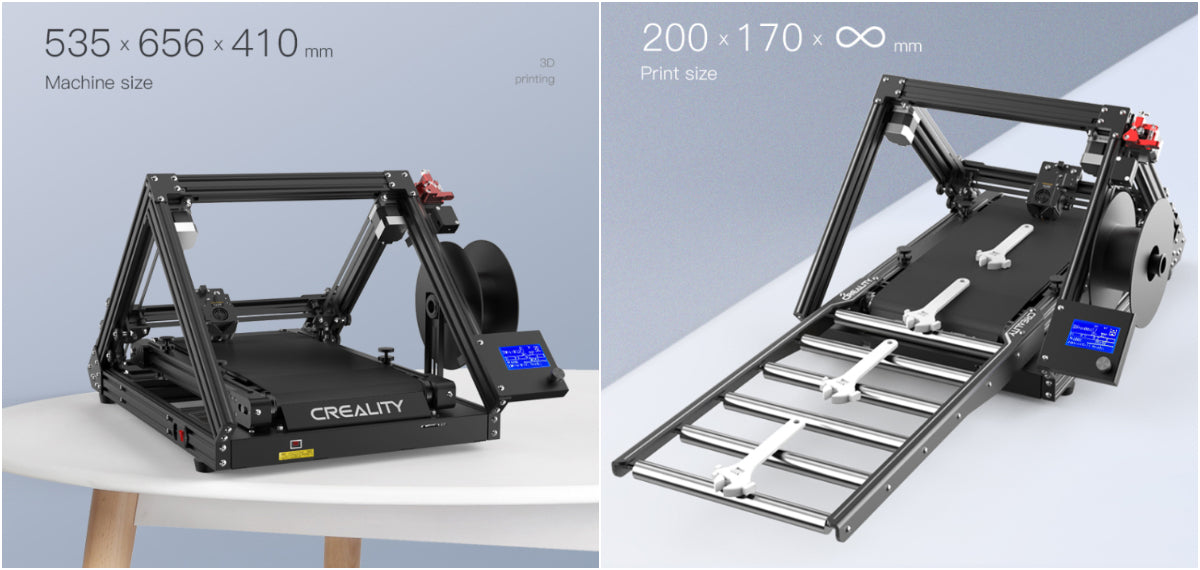 Infinite-Z-axis for Endless Printing
