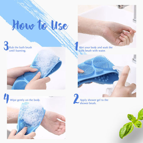 Silicone Bath Body Brush-aolanscctv