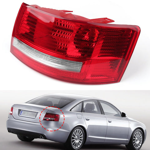 OEM Tail Light Cover Left Driver'S Side For 05-08 Quattro Audi A6 S6 C6