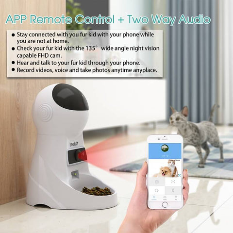 WiFi Automatic Pet Feeder