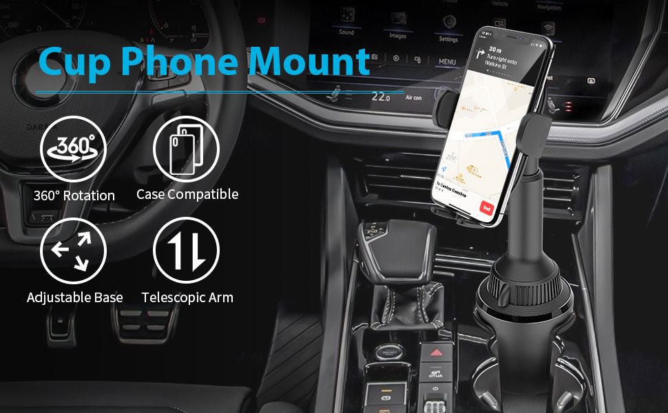 CUP PHONE MOUNT