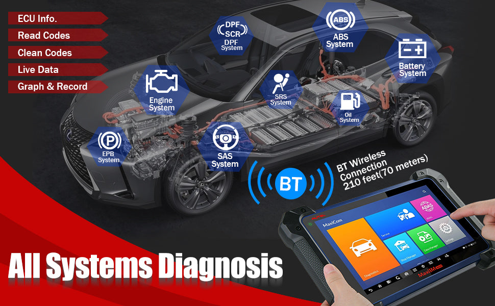 mk908 All Systems OE-Level Diagnosis & Services