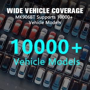 MS906TS Unmatched Vehicle Coverage