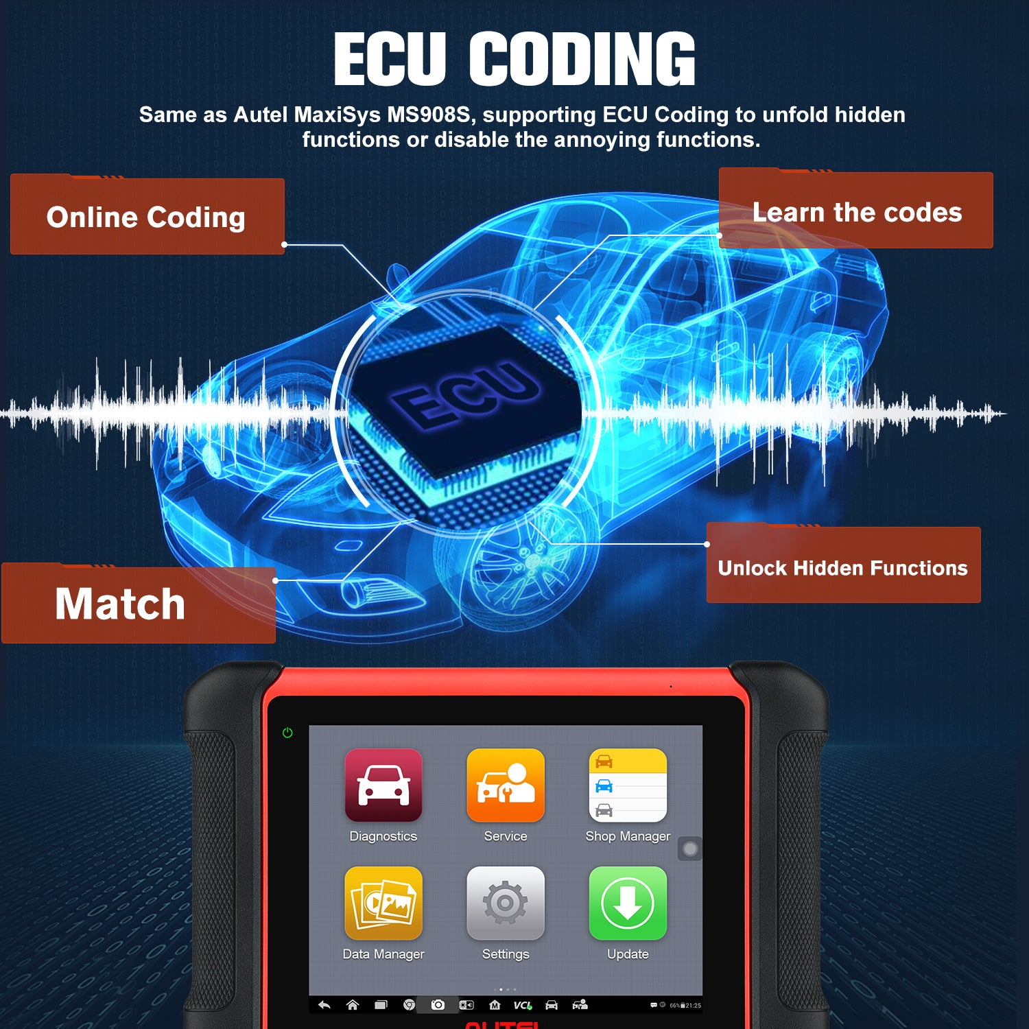 MK906BT Enhanced ECU Coding