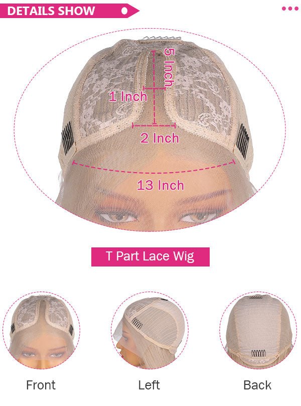 fuhsi wig t part wig cap construction