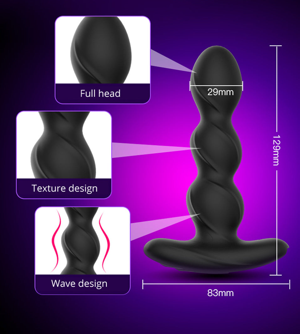 Electric Shock Prostate Butt Massager