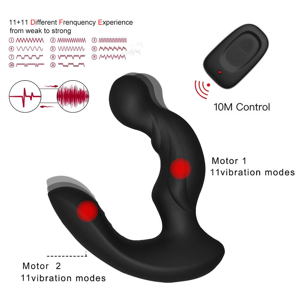 LEVETT NERO Best Prostate Massager