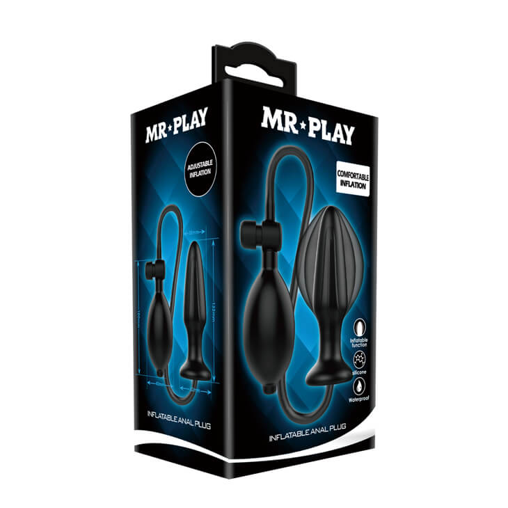 Mr.Play Inflatable Prostate Anus Massager