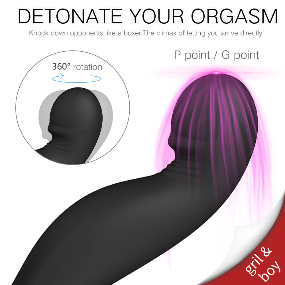 S-Hand Plus One Prostate Vibrator