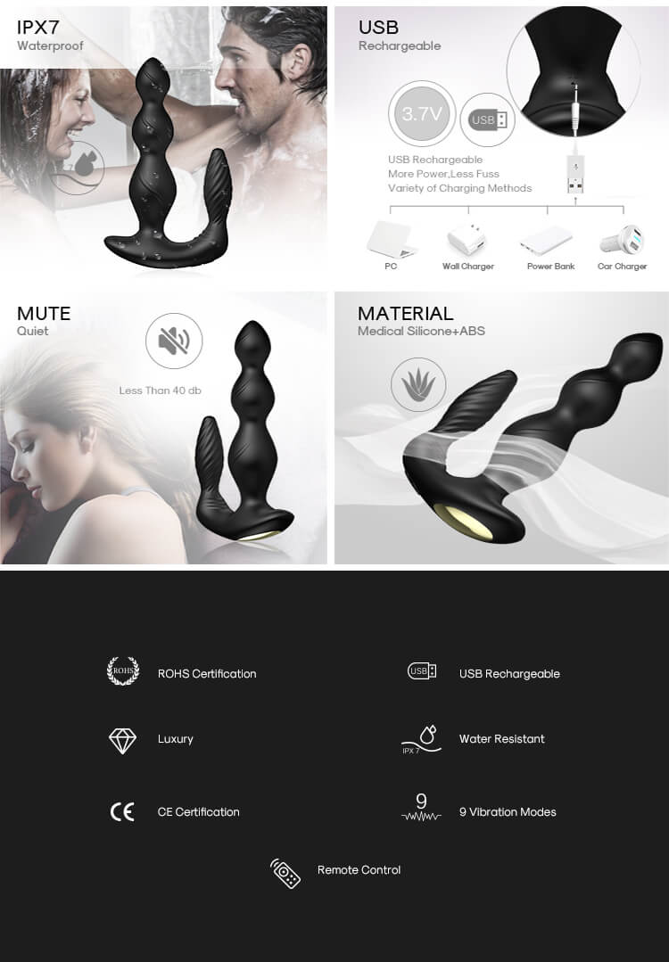 USK Mens Prostate Massager
