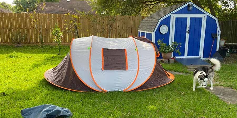 tent for 4-6 person