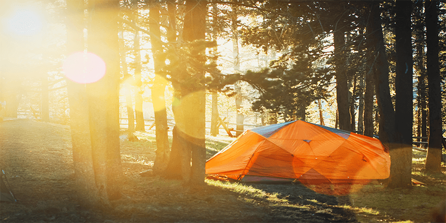 camping fan in your tent