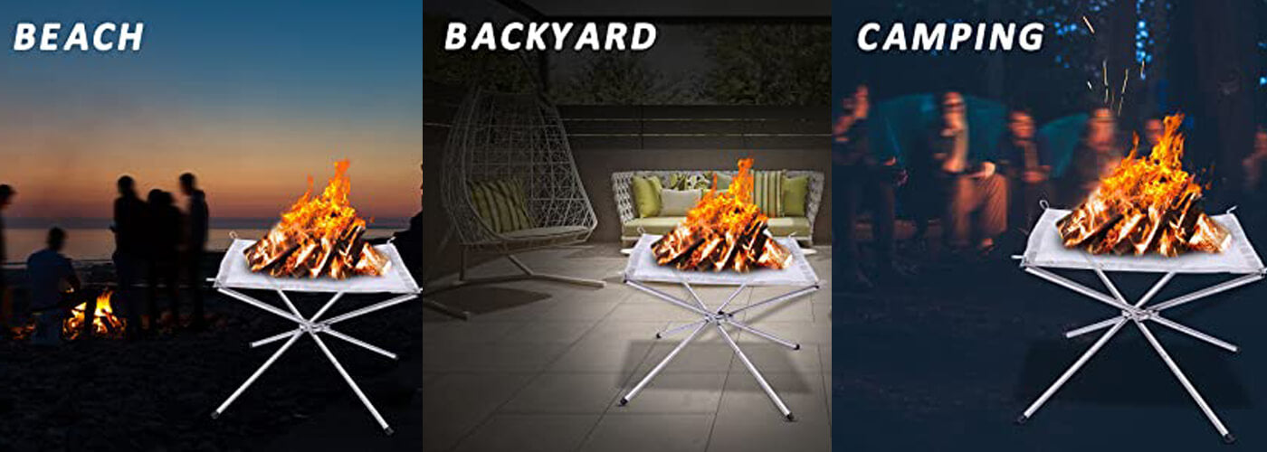 Portable Stainless Steel Fire Pit