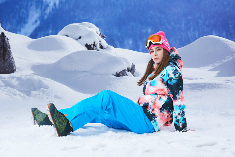 Women's Gsou Snow 10k All Functional Winter Snowboard Suits