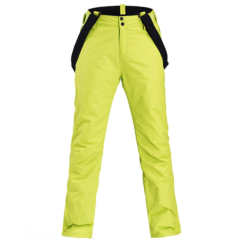 Men's Insulated Mountains Aurora Winter Snow Pants Ski Bibs