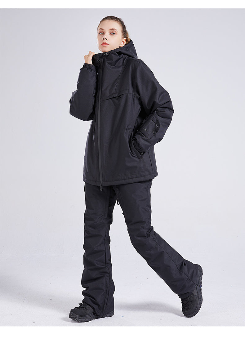 Women's Mad Craft Unisex The North Sky Snowboard Jacket & Pants Sets