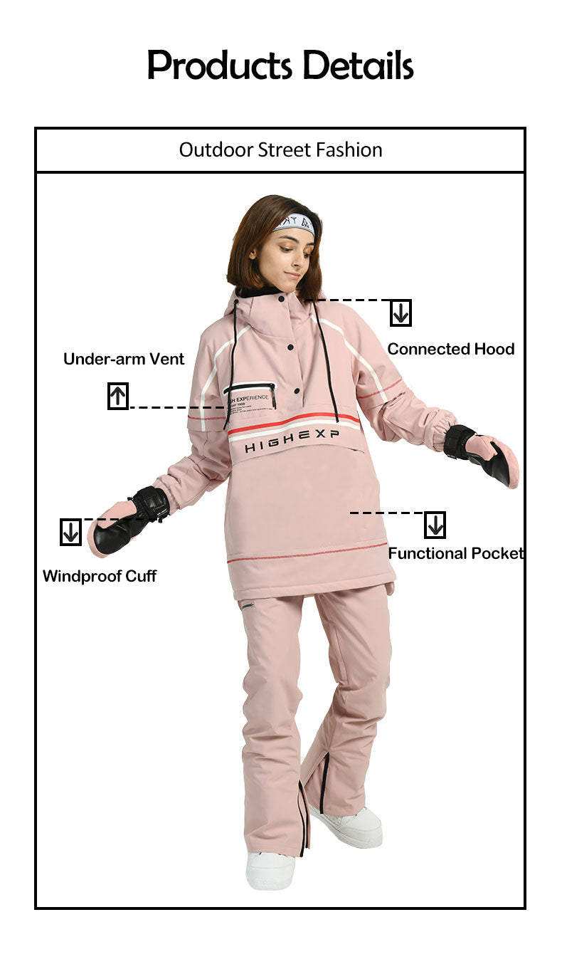 Women's Unisex Spring Out Outdoor Anorak Jacket