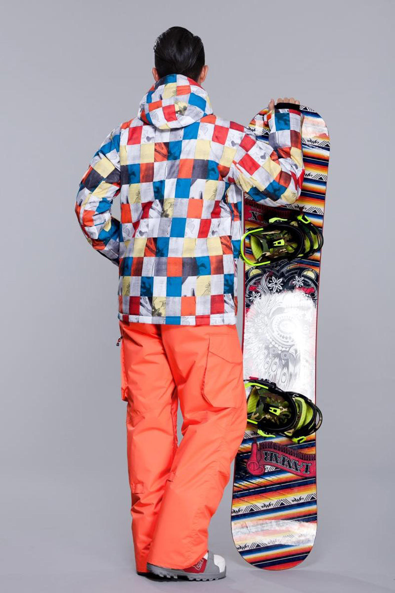 Men's Gsou Snow 10k Niseko Mountain Fantasy Snowboard Jacket