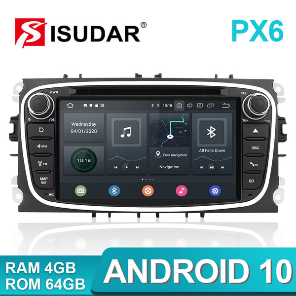 PX6 Android 10 Auto radio for ford focus