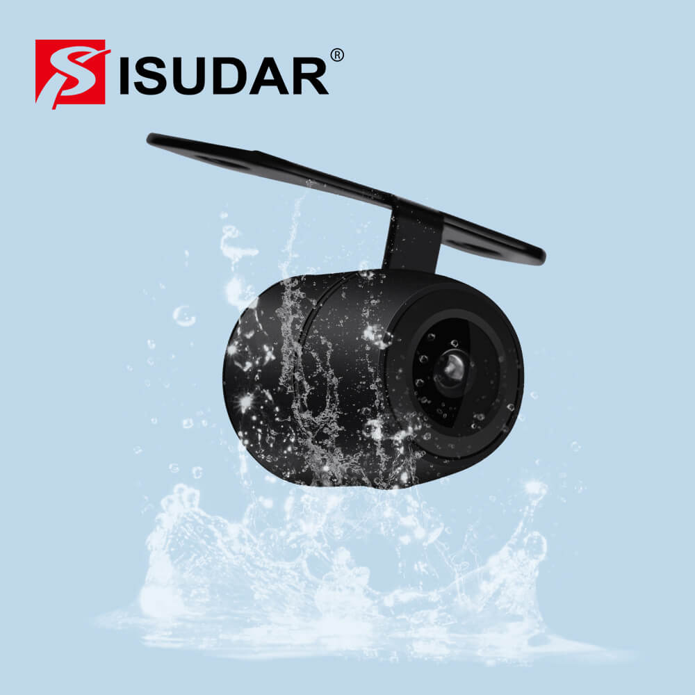 waterproof rear camera with HD