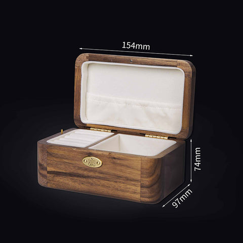 Wooden Music Box with Jewelry Box Dimensions