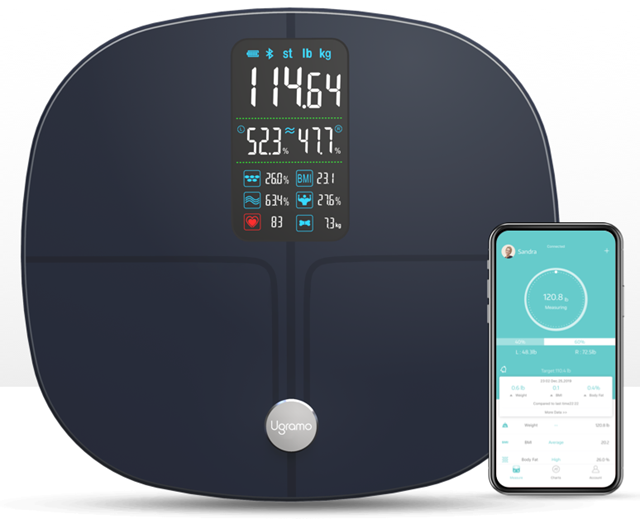 Ugramo Fit Pro Bluetooth smart scale