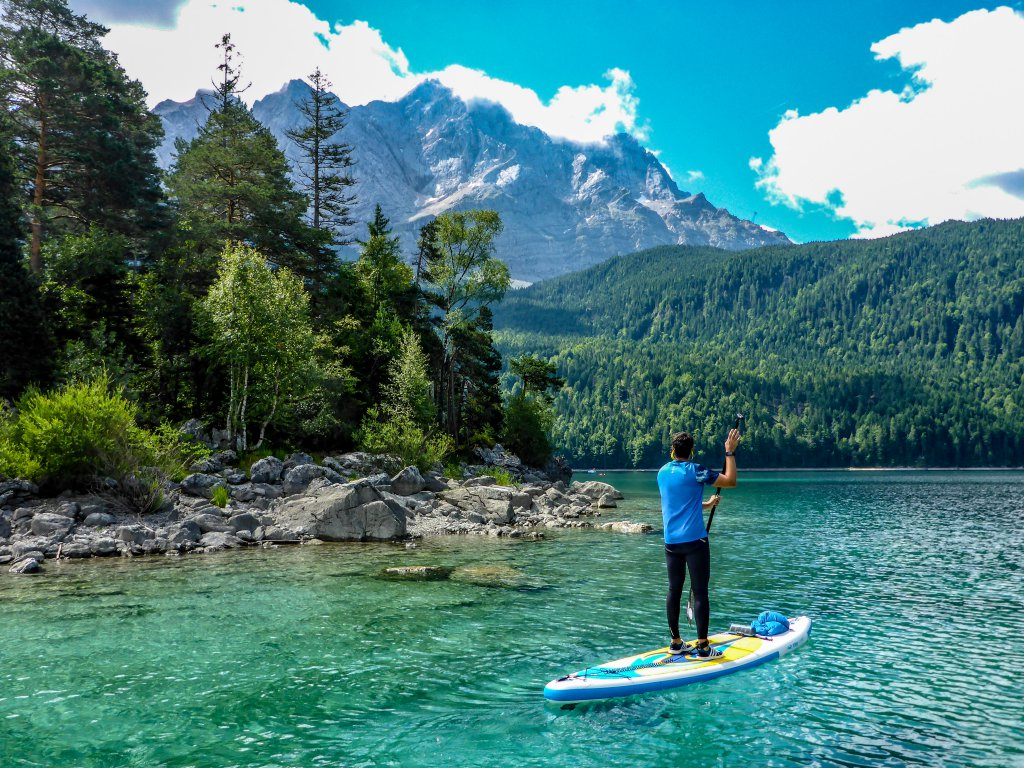 paddle boarding germany