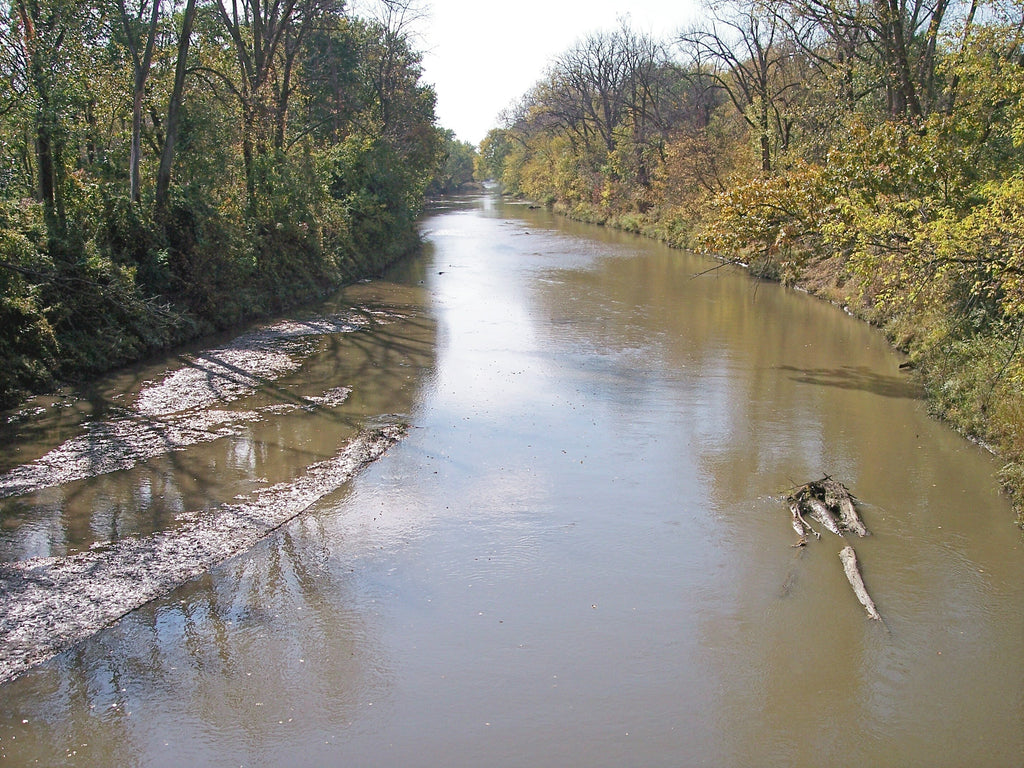 Middle River Water Trail Iowa Paddleboarding