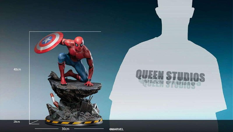 Queen Studios 1/4 Scale Captain America: Civil War Spider-Man Statue