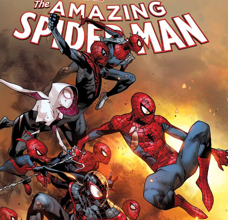 The Amazing Spider-Man Spider-Verse Cover Concept