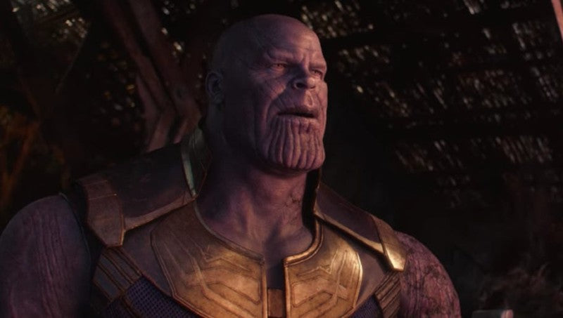 Thanos Discovers the Time Heist