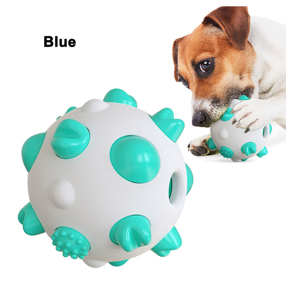 PETDURO Dog Chew Toys Dental Teething Ball for Aggressive Chewers Small Medium Large Breed