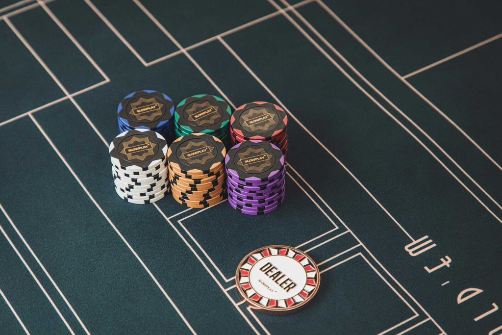 SLOWPLAY - Premium Poker Chips Brands - Clay Chips