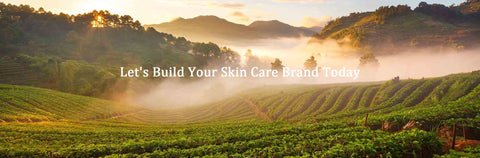 contact us to build your skin care brand