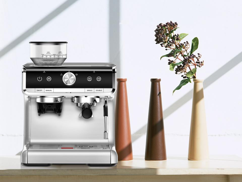 espresso machine with grinder for home