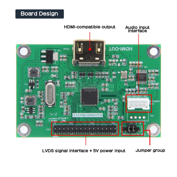 LVDS to HDMI Adapter Board-Latest Version(Third Generation)