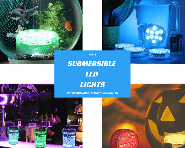 color changing submersible led lights ideas