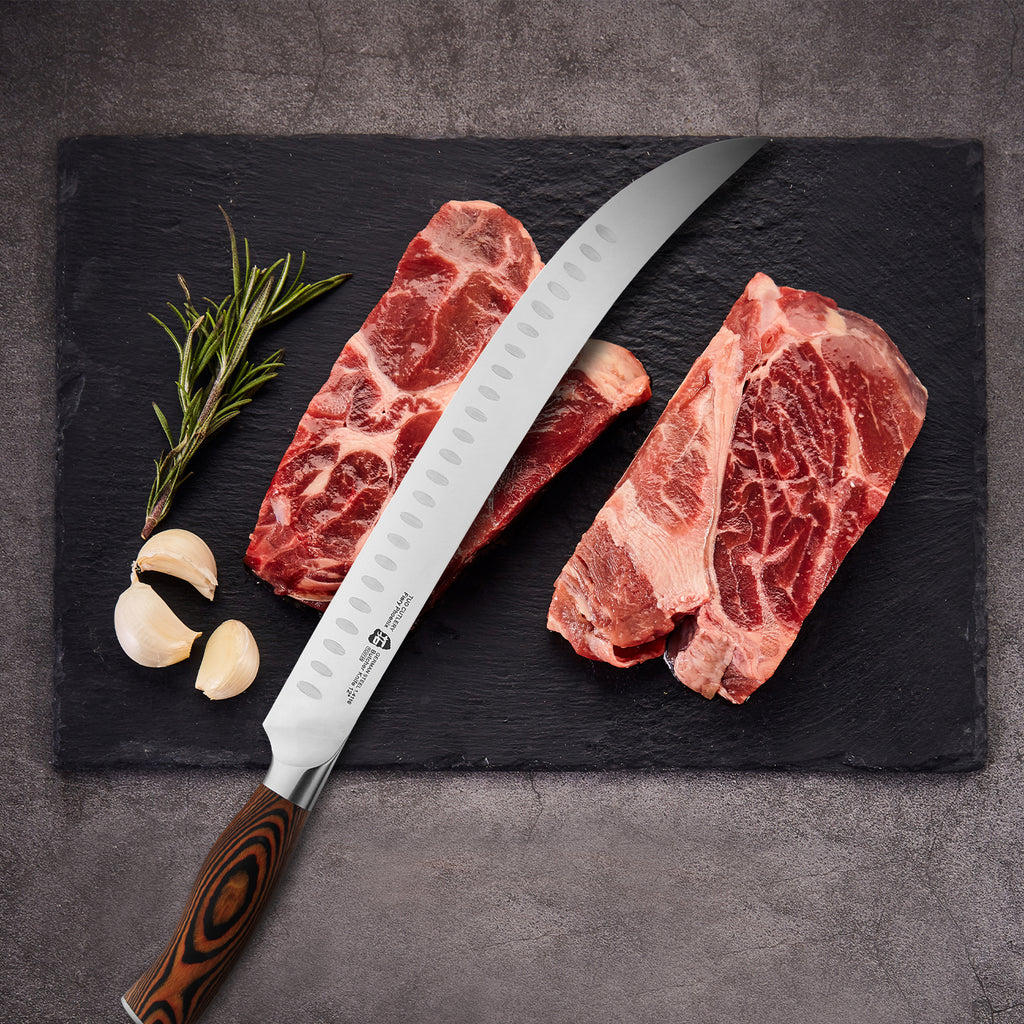butcher knife,TUO cutlery,cutlery,knife,meat knife,Slicing knife