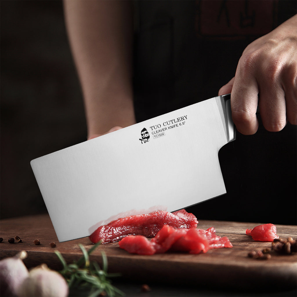 cleaver,meat knife,legacy series,Chinese knife,tuo cutlery