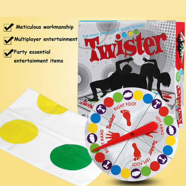 Funny Winning Moves Game Mat Twister Game for Family Kids Friend Party Play Mat