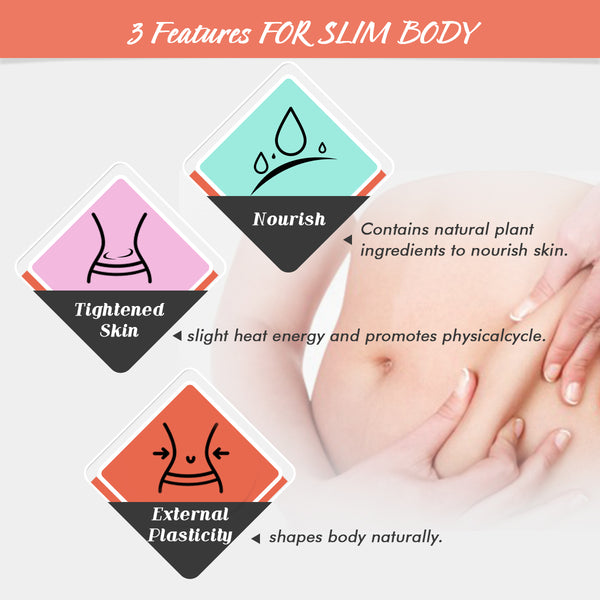 Luckyfine 5PCS Slimming Patch, Weight Loss Fat Burning Patch, Help with the Breakdown of Fat & Cellulite