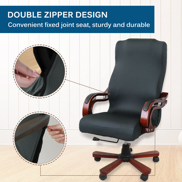 Office Chair Cover Computer Chair Universal High Back Large Size for Home/Office