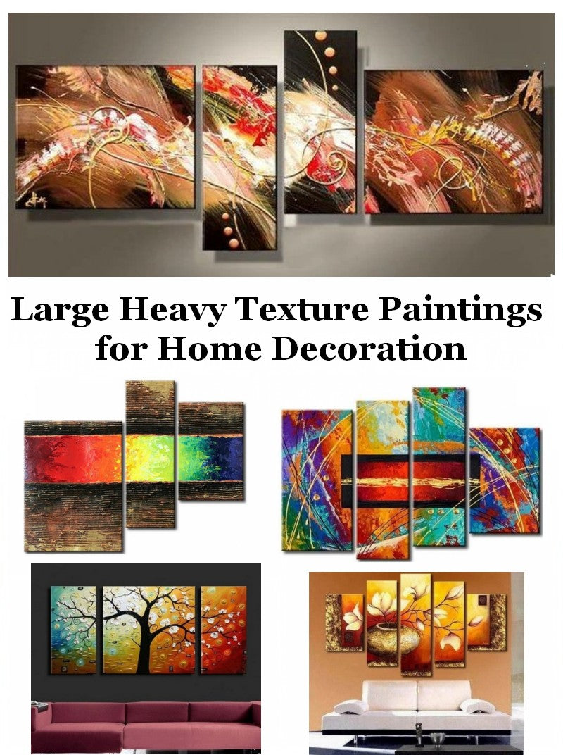 Paintings for Living Room, Large Paintings for Sale, Hand Painted Canvas Art, Bedroom Canvas Paintings
