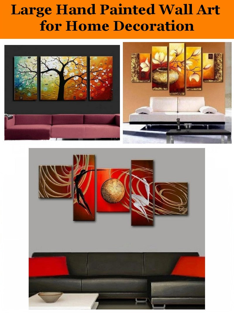 Hand Painted Canvas Art Painting Living Room Canvas Painting, Bedroom Acrylic Painting on Canvas