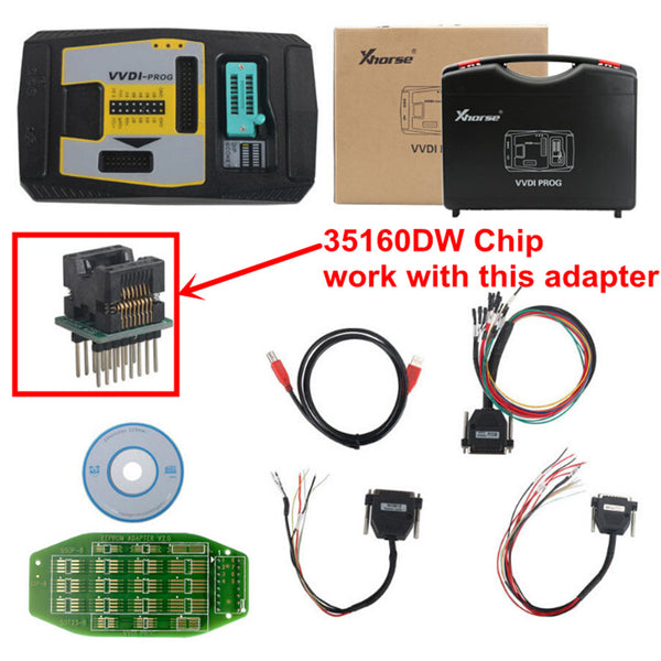 Xhorse 35160DW Chip Reject Red Dot No Need Simulator Work with VVDI Prog Key Programmer 5pcs/lot